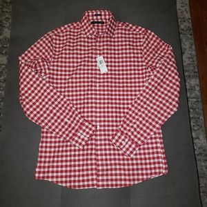 Tommy Hilfiger slim fit gingham dress shirt